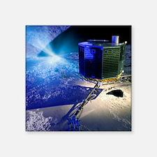 "Philae lander Square Sticker 3"" x 3"""