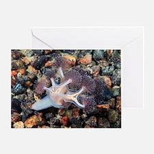 Stalked jellyfish Greeting Card