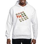 Sushi Platter Hooded Sweatshirt