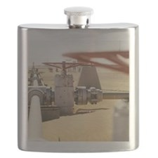 Gas well valve Flask