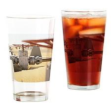 Gas well valve Drinking Glass