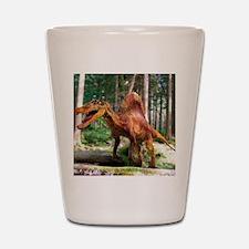 Spinosaurus dinosaur Shot Glass