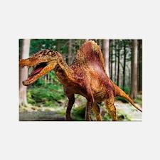 Spinosaurus dinosaur Rectangle Magnet