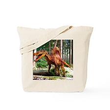 Spinosaurus dinosaur Tote Bag