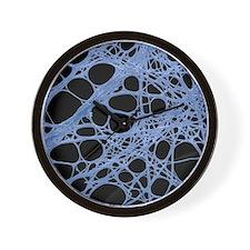 Spider silk, SEM Wall Clock