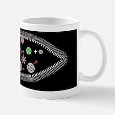 Paramecium protozoan, artwork Mug