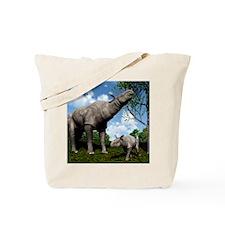 Paraceratherium, artwork Tote Bag