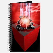 Firewall protection, conceptual artwork Journal