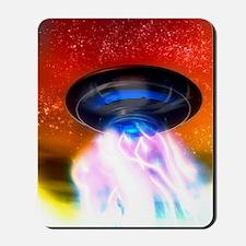 Flying saucer, artwork Mousepad