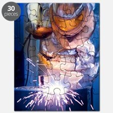 Oxy-acetylene cutting Puzzle