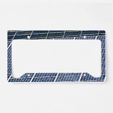 Solar panels License Plate Holder
