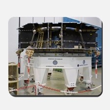 Spacecraft structure in cleanroom Mousepad