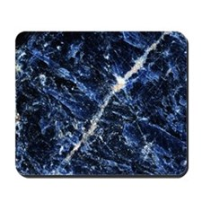 Sodalite mineral Mousepad