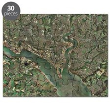Southampton, UK, aerial photograph Puzzle