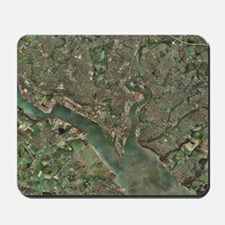 Southampton, UK, aerial photograph Mousepad