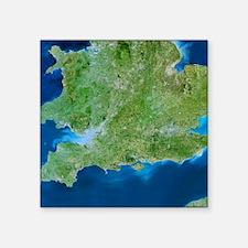 "Southern United Kingdom Square Sticker 3"" x 3"""