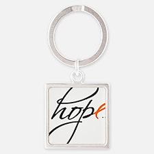 Hope Square Keychain