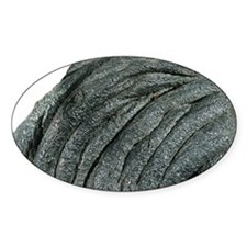 Solidified pahoehoe lava Decal