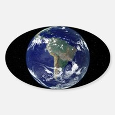 South America, satellite image Decal