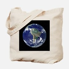 South America, satellite image Tote Bag