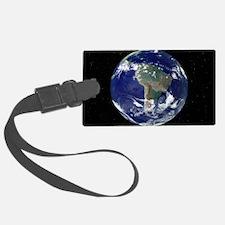South America, satellite image Luggage Tag