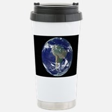 South America, satellite image Travel Mug