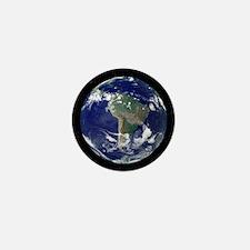 South America, satellite image Mini Button
