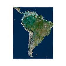 South America Twin Duvet