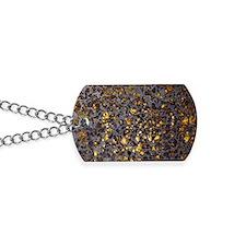 Pallasite meteorite Dog Tags