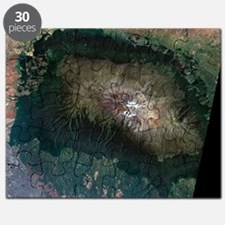 Snow on Mount Kilimanjaro, 2000 Puzzle