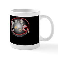 Ovarian cycle, artwork Mug