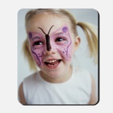 Face painting Mousepad