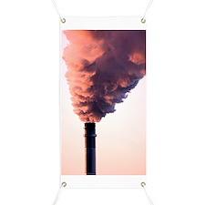 Smoking chimney Banner