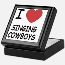I heart singing cowboys Keepsake Box
