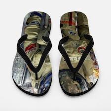 Orlan spacesuit display Flip Flops