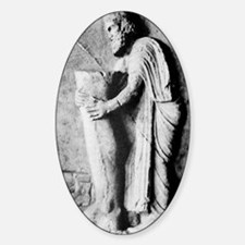 Offering to the Greek god of medici Decal