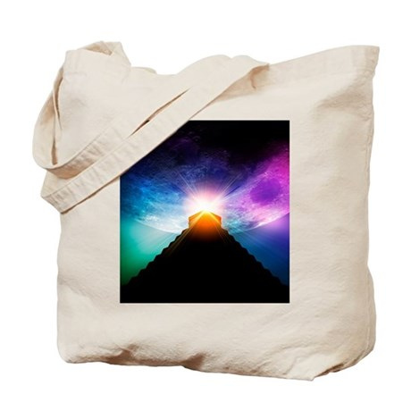 End of the World in 2012 conceptual image Tote Bag