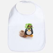 Leprechaun Penguin Bib