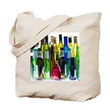 Empty wine and beer bottles Tote Bag