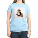 Cowboy Penguin Women's Light T-Shirt