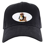 Cowboy Penguin Black Cap