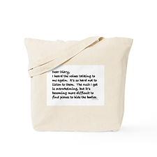 Dear Diary 1 Tote Bag