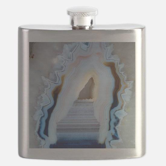 Slice of agate Flask