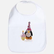 Birthday Penguin Bib