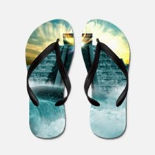 End of the World in 2012 conceptual ima Flip Flops