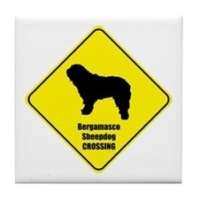Bergamasco Crossing Tile Coaster
