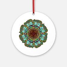 Tree of life coaster/tile Round Ornament