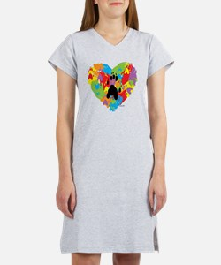 Painted by Ferrets Women's Nightshirt