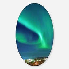 Northern lights over Murmansk Decal