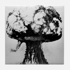 Nuclear explosion Tile Coaster